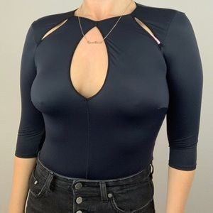 Jezebel Rosalyn Cutout Bodysuit